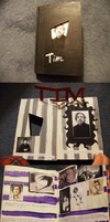 Altered Book On TIM BURTON by nerdsman567