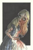 DISNEY ZOMBIE MASTERWORKS - ALICE by leagueof1