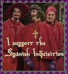 Spanish Inquisition stamp  XD by SirCrocodile