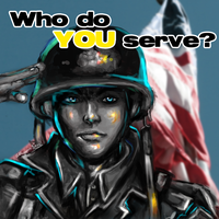 Who do YOU serve? by miss-mustang