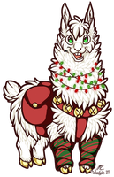 The Tale of the Christmas Alpaca by therougecat