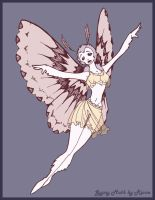 Moth Fairy by Theriona
