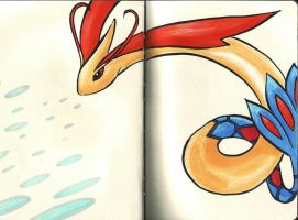 Milotic by Nayawinden