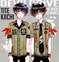 TITE and KIICHI by nakiringo