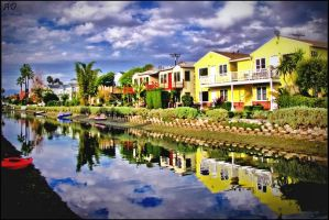 Venice Beach Canals by 1Elevin1