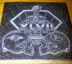4x4 Super Bowl 2013 Coaster by ckatt01