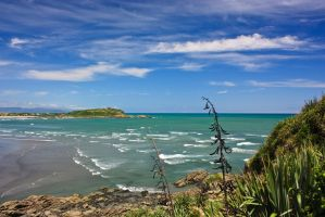 Tauranga bay by Mikelyjohnsono