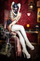 Legs and Latex by falt-photo