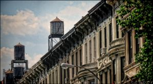 Upper West Facades and Water Towers by steeber