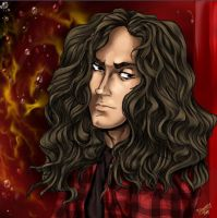 Mike Starr by Dani-Rattlehead