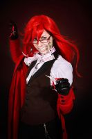Grell Sutcliff cosplay 2 by lolitaprincess13