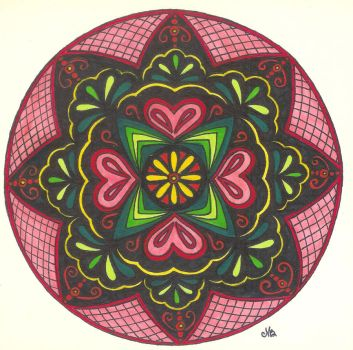 Love Mandala by Jewelfly