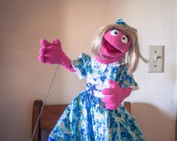 Little Girl Professional Puppet For Sale by foreverprairie