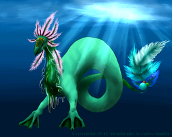 Sea Dragon . . . thing by Spottedfire-cat