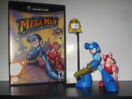 MegaMan Cover Shoot - MegaMan Anniv. Collection *2 by Nin10doNerd