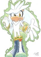 Silver the Hedgehog by aprict