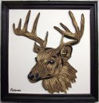 Quilled deer by pinterzsu