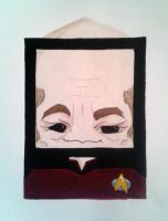 Captain Jean Luc Picard by Squaracters