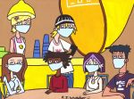 6teen in Masks by DJgames