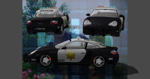 POLICE PORSCHE by Oo-FiL-oO