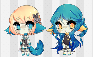 .:Pipsie Set 2 *Collab w/Steamed-Bun* -CLOSED-:. by NadopT