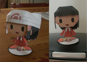 Papercraft Dawn template by MountainOfCookies