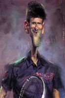 Novak Djokovic by JeffStahl