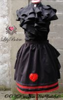 Bustle skirt GothLoli by iriscostume