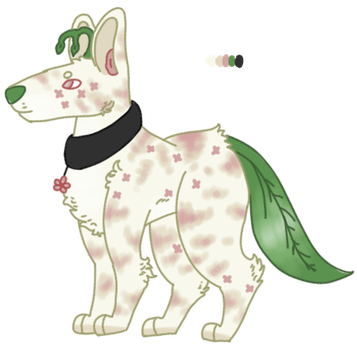 Plant dog adopt auction (1 point sb/open) by Sweetnfluffy-adopts