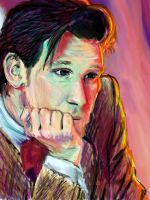11th Doctor Sketch by Sukautto