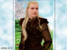 Lord Legolas Greenleaf Portrait by Aranes1