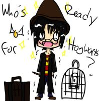 Whos Excited for Hogwarts? by Sinner23