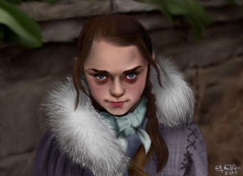 Arya Stark. by battlefate