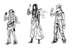 Ninja Designs by TheBoyofCheese