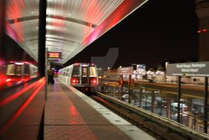 Reagan Airport Subway by lighthousegraphics