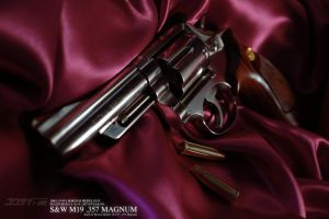 Kokusai Smith and Wesson M19 Combat Magnum 4inches by AldgerRelpa