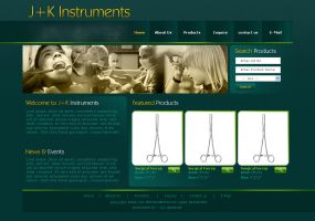 J+K Instruments by: dxgraphic by WebMagic