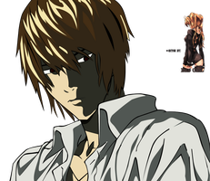 Light Yagami Vector by Bad--Girl
