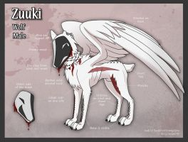 Zuuki Char Sheet Commish by AbnormallyNice