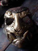 Steampunk demon mask by missmonster