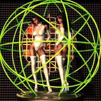 432 neon sphere by rainbowtattoo