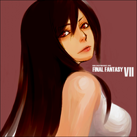 oh look, tifa lockhart by ayaweird