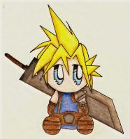 Chibi Cloud by Solexi