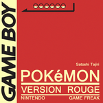 Minimal Game Posters - Pokemon Red Version by Waddle-Moogle