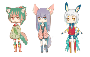 Sweater Kemonomimi Auction [CLOSED] by Frangasm