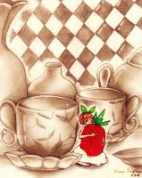 The strawberry by xiaoyizeng