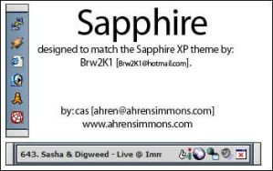 Sapphire by Cas by casimmons
