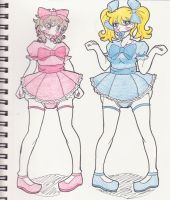 Dolly Wolly Mark and Amy by Kobi94