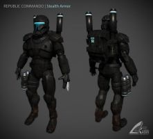 Republic Commando Stealth Ver. by darthrith
