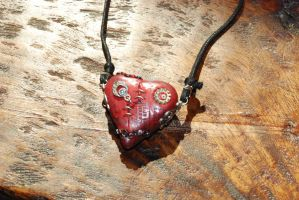 Polymer Clay Heart - side 1 by No-Avail